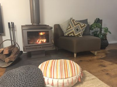 Photo for Relax @ Rye. Fireplace, Pet Friendly, WIFI. Perfect for 2 Families!