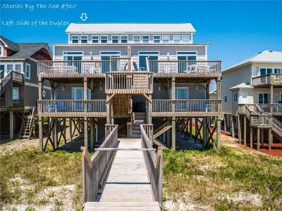 Photo for Stories by the Sea: 5 BR / 4.5 BA oceanfront in North Topsail Beach, Sleeps 12
