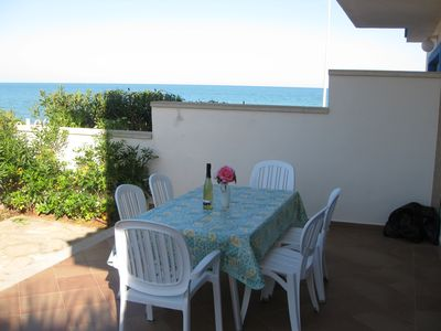 Photo for Semi-detached villa infront of the beach