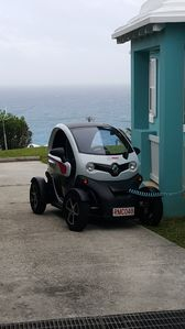 Twizy electric car charging station available