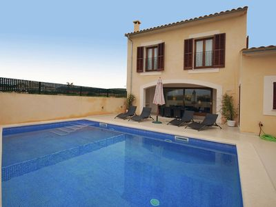 Photo for Nice and modern semi-detached with private pool, situated in a quiet area