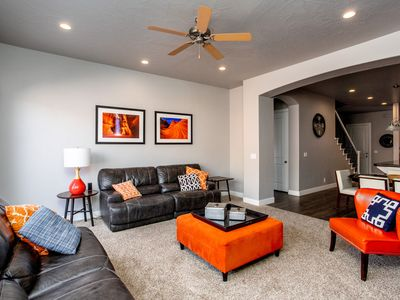 Photo for Hidden Canyon - Sleeps 16 easy access to pools, hot tub and putting green