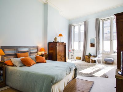 Photo for Exceptional apartment in the heart of the city center - linen and cleaning provided - tramway