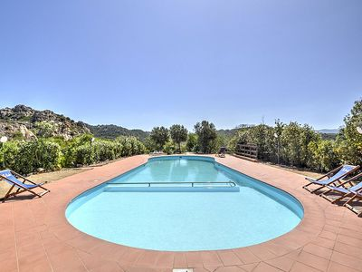 Photo for 2 bedroom Villa, sleeps 6 in Costa Paradiso with Pool