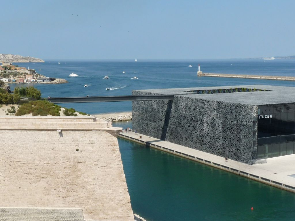 Marseille, stunning views of the sea and Mucem