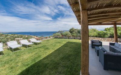 Photo for Sea view Villa in front of Caprera Island - 6 - 8 people
