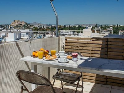 Photo for Athenian Penthouse Apartment with stunning views