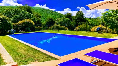 Photo for Posto Del Sole:Country House/WiFi, 8 miles to Spoleto centre, Rome 1 hour