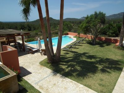 Photo for Villa Santiago, in Ibiza, with pool, 4 bedrooms, it can accommodate up to 7 people.