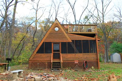 Cozy A-frame cabin in the heart of the Shenandoah