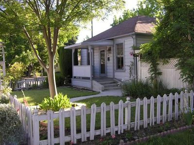 Front of Home - Have you ever wanted a white picket fence?