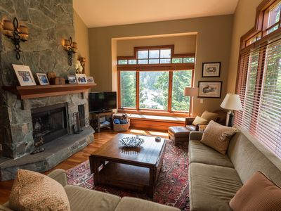 Photo for ski in/out Cozy, private, with beautiful mtn views, hot tub and gondola access