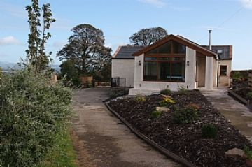 Dryfesdale Lodge Visitor Centre (Office de tourisme), Lockerbie, Écosse, Royaume-Uni
