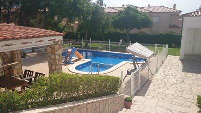 Photo for ideal family holiday villa with private pool and garden