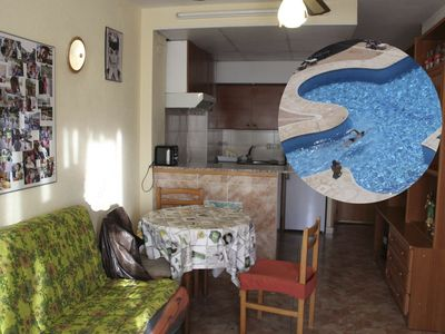 Photo for Calella, apartment 5 minutes to the sea and the party area