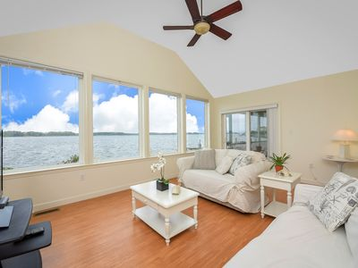 Photo for 4 Bedroom Riverfront Home with Amazing Views in Ocean Pines!