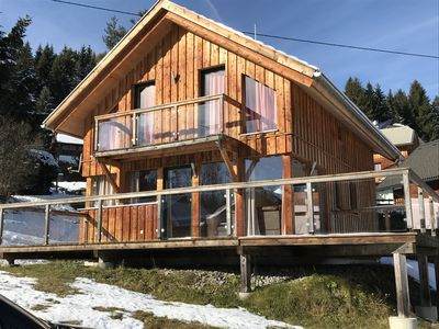 Photo for Luxury chalet in the Austrian mountains with stunning views