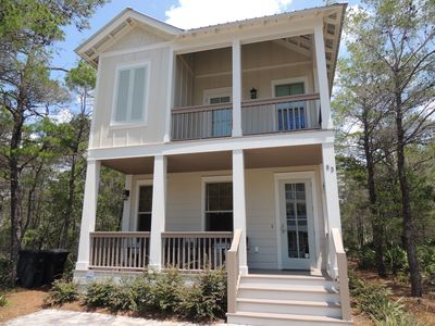 Photo for Tres Palmas -New 4BR/3BA walk to Beach/Gulf Place-Community Pool 1/2 blk away