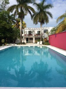 Photo for Cozumel Casa Caribe-Downstairs, Main part of house- in the heart of Cozumel