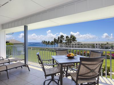 Photo for Poipu Sands #334: Ocean View Unit is an Easy Walk to Beaches w/ Shopping Nearby!