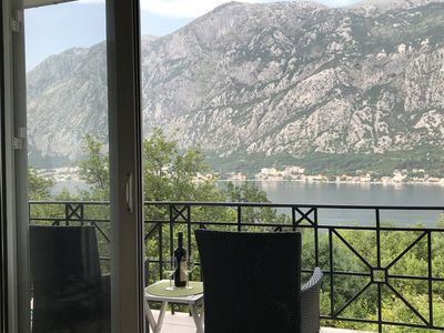 Photo for Apartment in Prcanj, Kotor, Montenegro