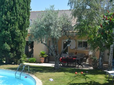 Photo for Charming village house a few kilometers from the Arena of Nîmes