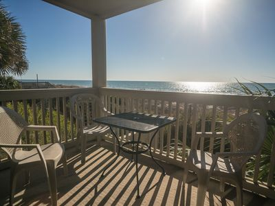 Photo for Oceanfront, pets considered, easy access to everything!
