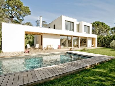 Photo for DESIGN VILLA WITH POOL IN MONTPELLIER