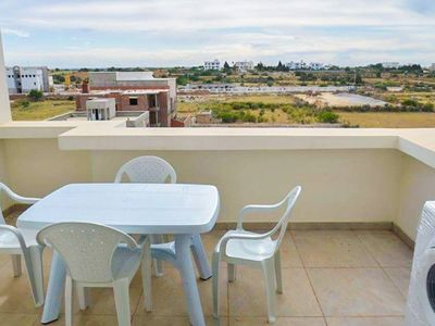 Photo for Beach walk 200 m, top location, WiFi free, air-conditioned, large balcony
