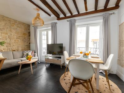 Photo for IN THE HEART OF LE MARAIS STEPS FROM PLACE DES VOSGES - BASTILLE - COSY 1BR
