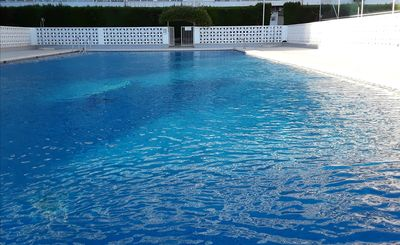 Our large swimming pool