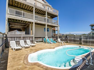 Photo for Blue Sky | 391 ft from the beach | Private Pool, Hot Tub
