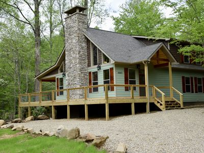 Photo for Three Waters Lodge - Creekside- Newly Constructed