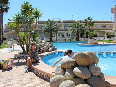 Photo for El Divino Los Alcazares, Lovely Apartment 2 bed 2 bath with 2 swimming pools