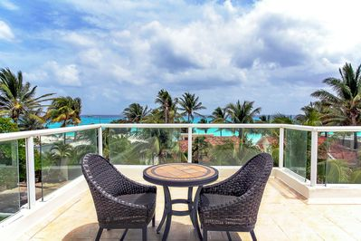 Your own ocean view roof deck