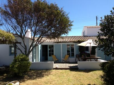 Photo for Charming house + garden, family and functional in Port Joinville
