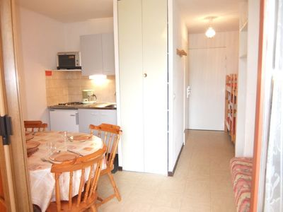 Photo for One bedroom Apartment, sleeps 4 in Villarembert with WiFi