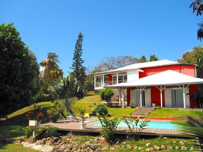 Photo for The Red Villa, on a magnificent wooded property