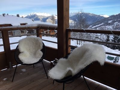 Photo for APART. STANDING 3P./6 PERS VALMOREL - At the foot of the slopes and 300m from the village