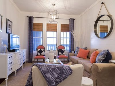Photo for Professionally Designed Condo in Seacrest at the Village of South Walton - `Seaglass Cottage`