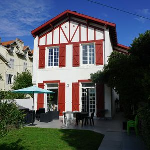 Photo for House with garden - Centre of Biarritz - Beach at 300m