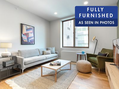 Photo for Dapper East Village 1BR w/ W/D in unit near Union Square by Blueground