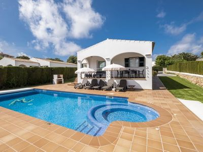 Photo for 3 bedroom Villa, sleeps 6 in Alaior with Pool, Air Con and WiFi