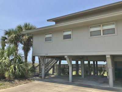 Photo for Gibson Duplex 1: Beach Front, Sunsets; 3BR, Sleeps 10