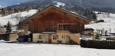 Photo for Nice and cozy apartment in Aravis (La Clusaz - Le Grand-Bornand)