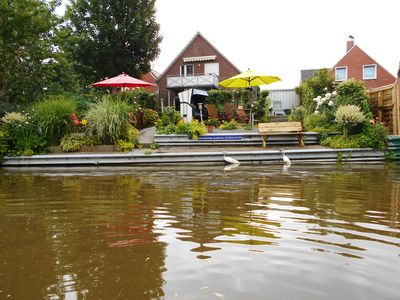 Photo for FERNBLICK: Beautiful cuddly apartment in Greetsiel in anchor house directly on the Siel