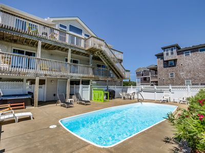 Photo for Casa Spiaggia | 1495 ft to the beach | Private Pool, Hot Tub, Dog Friendly