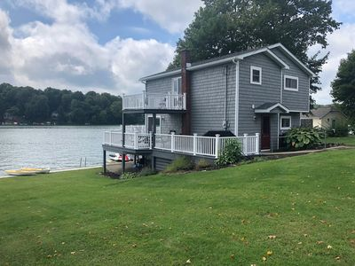 Waterfront Findley Lake Retreat With Boathouse And All Amenities...