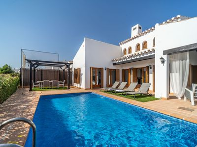 Photo for 3 Bed Villa with Private Pool- El Valle Golf Resort - MURCIA VACATIONS ZO19