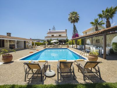 Photo for 6 Bedroom Villa With Big Private Pool, private Tennis Court and Taverna